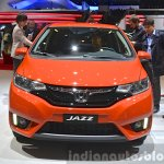 2015 Honda Jazz front view at 2015 Geneva Motor Show