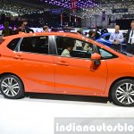 2015 Honda Jazz side view at 2015 Geneva Motor Show
