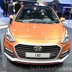2015 Hyundai i30 Turbo front at the 2015 Geneva Motor Show