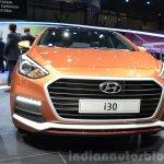 2015 Hyundai i30 Turbo grille at the 2015 Geneva Motor Show