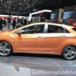 2015 Hyundai i30 Turbo side at the 2015 Geneva Motor Show