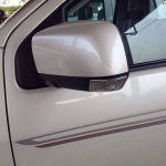 2015 Isuzu MU-X limited edition door mirror