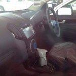 2015 Isuzu MU-X limited edition interior