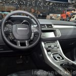 2015 Land Rover Evoque interior steering wheel at the 2015 Geneva Motor Show