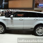 2015 Land Rover Evoque side at the 2015 Geneva Motor Show