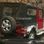 2015 Mahindra Thar Exterior rear spied