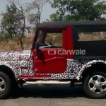2015 Mahindra Thar Exterior side spied