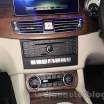 2015 Mercedes CLS center console from launch in India