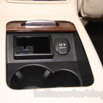 2015 Mercedes CLS cup holder from launch in India