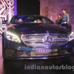 2015 Mercedes CLS front from launch in India