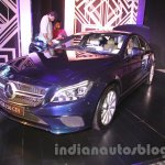 2015 Mercedes CLS front three quarter from launch in India