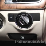 2015 Mercedes CLS headlamp switch from launch in India