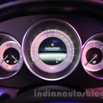 2015 Mercedes CLS instrument binnacle from launch in India