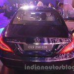 2015 Mercedes CLS rear from launch in India