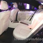 2015 Mercedes CLS rear seat from launch in India