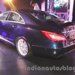 2015 Mercedes CLS rear three quarter from launch in India