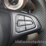 2015 Mercedes CLS steering buttons from launch in India