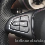 2015 Mercedes CLS steering mounted controls from launch in India