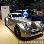 2015 Morgan Aero 8 Hardtop front three quarer view at 2015 Geneva Motor Show