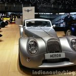 2015 Morgan Aero 8 Hardtop front view at 2015 Geneva Motor Show