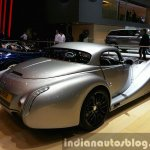 2015 Morgan Aero 8 Hardtop rear three quarter view at 2015 Geneva Motor Show