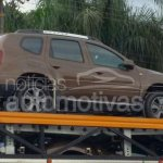 2015 Renault Duster (facelift) for Brazil spied at or arriving at dealers