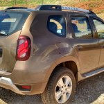 2015 Renault Duster facelift rear Brazil spec spyshot