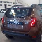 2015 Renault Duster (facelift) taillamp and tailgate for Brazil spied at or arriving at dealers