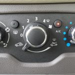 2015 Renault Lodgy Press Drive HVAC controls