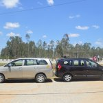 2015 Renault Lodgy Press Drive Toyota Innova size comparison