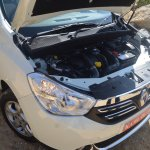 2015 Renault Lodgy Press Drive engine bay