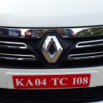 2015 Renault Lodgy Press Drive front grille