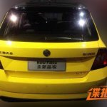 2015 Skoda Fabia rear spotted in China