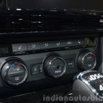 2015 Skoda Superb ac controls at 2015 Geneva Motor Show