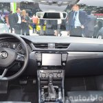 2015 Skoda Superb dashboard at 2015 Geneva Motor Show