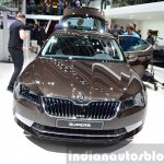 2015 Skoda Superb front view at 2015 Geneva Motor Show (1)
