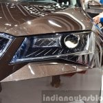 2015 Skoda Superb headlamp at 2015 Geneva Motor Show