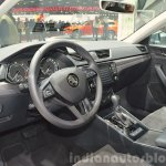2015 Skoda Superb interior(front) at 2015 Geneva Motor Show
