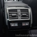 2015 Skoda Superb rear ac vents at 2015 Geneva Motor Show