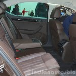2015 Skoda Superb rear seat at 2015 Geneva Motor Show (1)