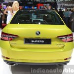 2015 Skoda Superb rear view at 2015 Geneva Motor Show