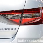 2015 Skoda Superb right taillight at 2015 Geneva Motor Show