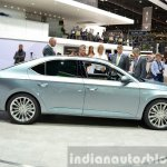2015 Skoda Superb side view at 2015 Geneva Motor Show