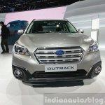 2015 Subaru Outback front view at 2015 Geneva Motor Show