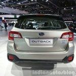 2015 Subaru Outback rear view at 2015 Geneva Motor Show