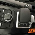 2016 Audi A4 MMI and center console spyshot leak