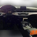 2016 Audi A4 dashboard spyshot leak