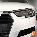 2016 Audi A4 headlamp spyshot leak
