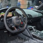 2016 Audi R8 V10 Plus dashboard view at 2015 Geneva Motor Show