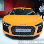 2016 Audi R8 V10 Plus front view at 2015 Geneva Motor Show